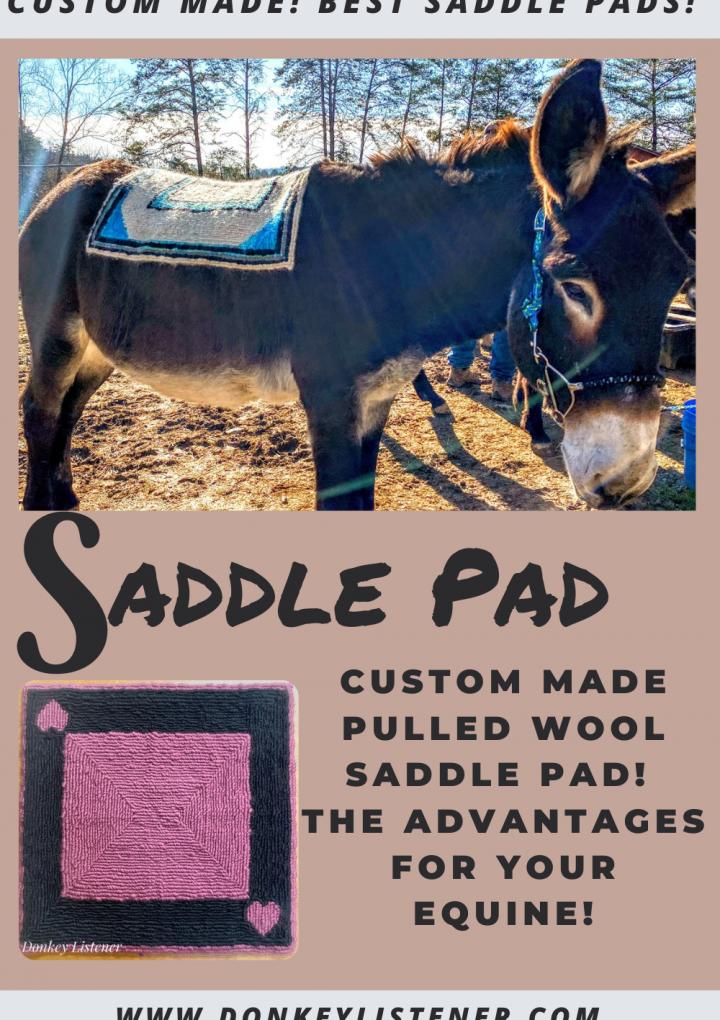 Pulled Wool Saddle Pad